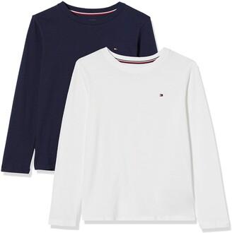 Tommy Hilfiger Boy's 2P CN TEE LS Pyjama Top