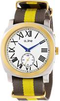 A Line a_line Women's AL-80023-YG-SS-02GY Pyar Analog Display Japanese Quartz Two Tone Watch