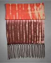 Metallic Tie-Dye Scarf