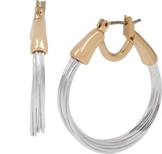 Robert Lee Morris Soho Women's Small Wire Hoop Earrings