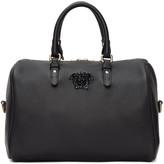 Versace Black Barrel Duffle Bag