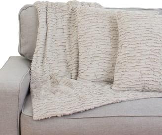 Thro Rachel Ruffle Pillows & Throw Set