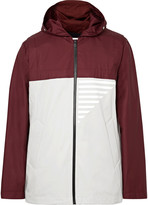 Under Armour Sportswear - Coxswain Bonded Ripstop And Cotton-blend Twill Hooded Jacket