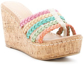 Restricted Orla Braided Wedge Sandal