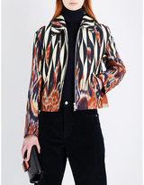 Dries Van Noten Varil abstract-print woven jacket