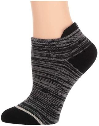 Sorel Super Soft Wool Space Dye No Show (Black) Women's Crew Cut Socks Shoes