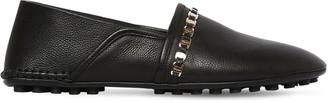 Salvatore Ferragamo 10mm Torretta Leather Loafers