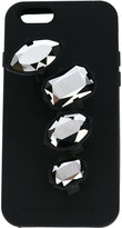 Stella McCartney embellished iPhone 6 case - women - Silicone/glass - One Size