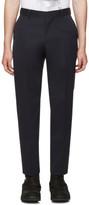 Juun.J Navy Wool Trousers