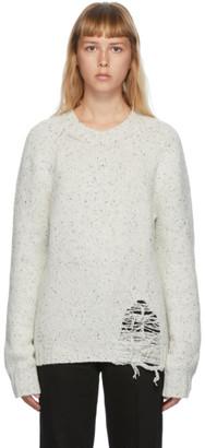 Maison Margiela Off-White Gauge Sweater
