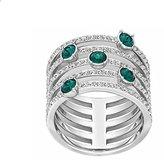 Swarovski Women's Ring Glass Green Size L 1/2 – 5184555