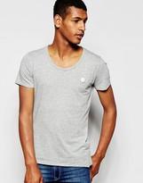 Antony Morato Scoop Neck T-shirt - Grey