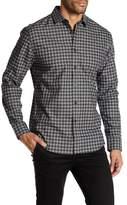 Vince Camuto Check Spread Collar Shirt