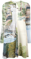 Stella McCartney Landscape print dress - women - Viscose - 38