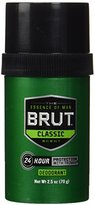 Brut Deodorant, Round Solid, 2.5 Ounces (Pack of 6)