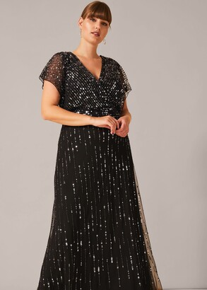 Phase Eight Shante Sequin Maxi Dress