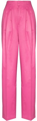 Rotate by Birger Christensen Janis high-waist trousers