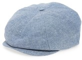 Brixton Men's Brood 8 Driving Cap - Blue