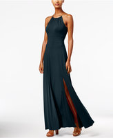 MICHAEL Michael Kors Braided Halter Maxi Dress