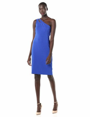 Laundry by Shelli Segal Women's One Shoulder Cut Out Core Dress