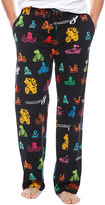 Asstd National Brand Nintendo Mario Cart Knit Pajama Pants