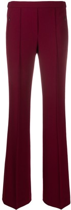 Theory Demitria flared-leg trousers