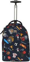 Dolce & Gabbana Sports Nylon Canvas Rolling Backpack