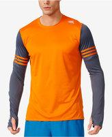 adidas Men's ClimaLite Long-Sleeve Running Shirt