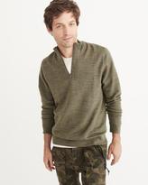 Abercrombie & Fitch Merino-Blend Half-Zip Sweater