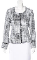 Alexis Tweed Zip-Up Jacket