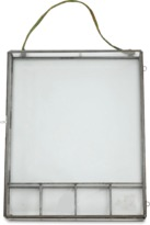 Nkuku Kiko Photo Box - 20.5 x 28cm - Antique Zinc