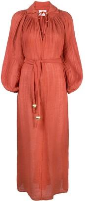 Lisa Marie Fernandez Poet maxi dress