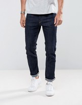 Jack and Jones Intelligence Jeans In Slim Fit Rinse Denim