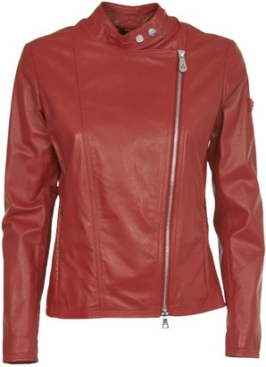 Peuterey Red Biker Jacket