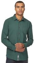 Mantaray Big And Tall Green Basketweave Regular Shirt