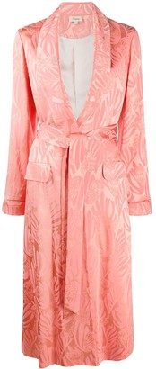 Temperley London Fresco single-breasted coat