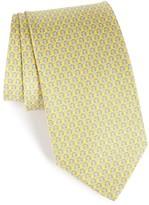Salvatore Ferragamo Men's Darwin Geometric Gancini Silk Tie