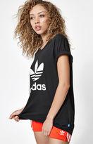 adidas Trefoil Short Sleeve Boyfriend T-Shirt