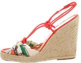 Stella McCartney Espadrille Wedge Sandals