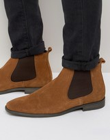 Base London Suede Chelsea Boots