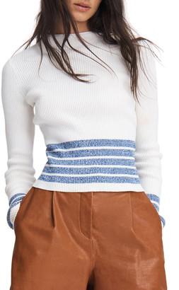 Rag & Bone Jamie Mock Neck Sweater
