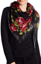 Collection XIIX Bordering the Rose Scarf