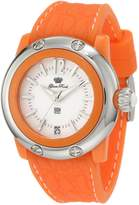 Glam Rock Women's GR23014 Miss Miami Beach Dial Orange Silicone Watch
