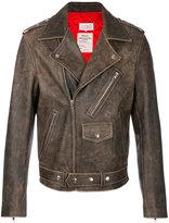 Maison Margiela distressed biker jacket