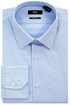 HUGO BOSS Fine Stripe Spread-Collar Dress Shirt