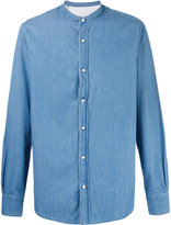 Officine Generale plain denim shirt - men - Cotton - L