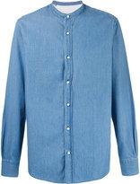 Officine Generale plain denim shirt