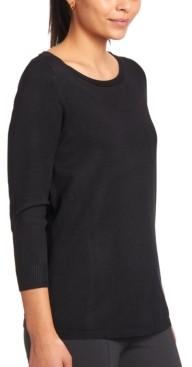 Joseph A Keyhole-Back Sweater