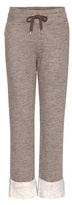 See by Chloe Cotton And Wool-blend Track Pants