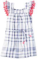 Carter's Windowpane Cotton Dress, Toddler Girls (2T-4T)